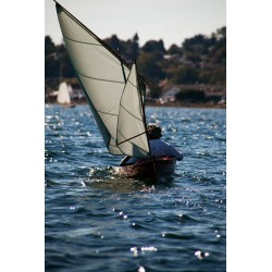 Dinghy Under Sail
